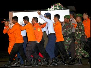 First body from AirAsia plane identified, handed over to family
