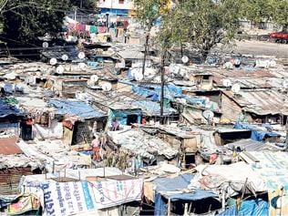 Indore slum-dwellers choose TV over civic amenities