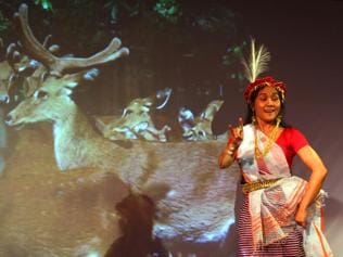 A stunning play with a simple message: We are Indians too