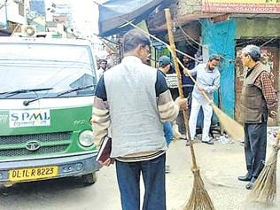 Jamia Nagar residents wield the broom, inspire others to follow suit