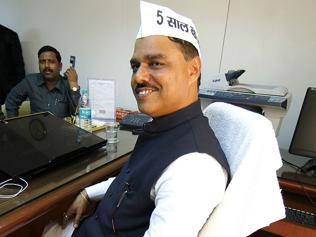 AAP MLA Surender Singh gets notice over