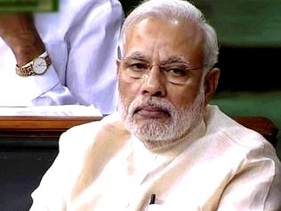 Modi must grit his teeth and smile at the same time