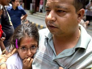Still reeling from April 25 quake, Nepal brought to its knees again