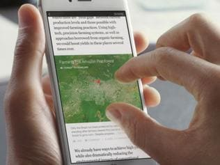 Facebook muscles into news business with Instant Articles platform