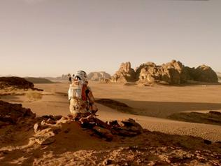 Matt Damon fights to survive in space in The Martian trailer
