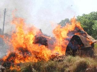 Cattle fodder sheds torched amid peace talks in Atali