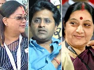Sushma's case was weak but the Congress went for Raje