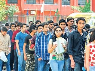 Lucknow: Students wait anxiously for AIPMT results