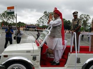 CRPF's contribution in any critical situation incredible, says Rajnath in Neemuch