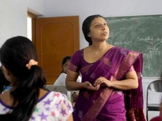 Lesson in determination: Visually challenged women script success