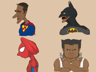 Twitterati go berserk as superheroes turn Indian