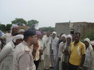 Tension in Jind village, Dalit families flee due to panic