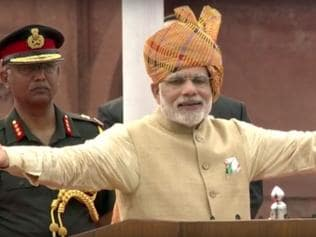 I-Day fashion check: PM Modi goes sober, stately and formal