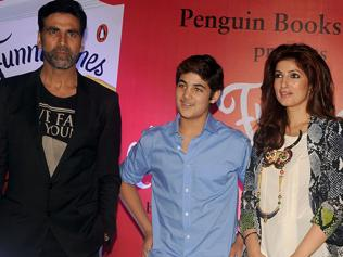 Akshay is the first one to read my columns: Twinkle Khanna
