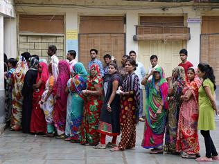 BJP wins Rajasthan civic polls, but Raje ends up losing face