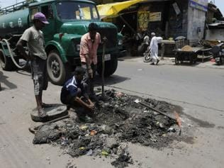 'Labyrinth' of Indore's drainage system