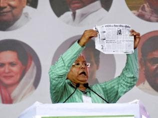 With one-liners, Lalu turns biggest crowd-puller at Swabhiman rally