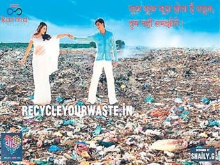 These Bollywood stars on garbage piles have a message for you