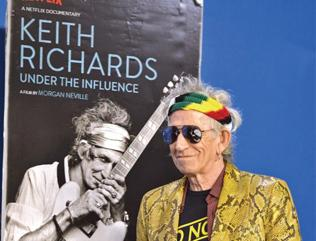 Keith Richards: Under the Influence is full of anecdotes