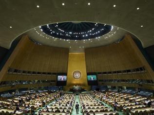 At the UN, gestures speak louder than words
