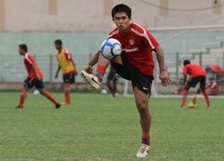 Football is the best thing that happened to mankind: Sunil Chhetri