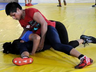 Married at 13 and mum at 14, Neetu still wrestled her way to glory