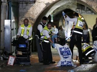 Palestinian kills 2 in Jerusalem before being shot dead by police