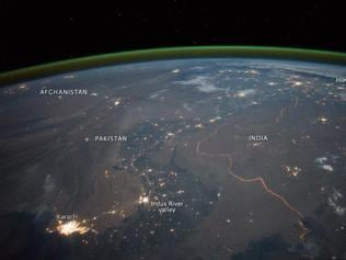 Bird's view: How India's border with Pakistan looks from space
