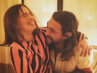 Khal Drogo-Daenerys meet again! Emilia Clarke and Jason Momoa's 'cuddly'...