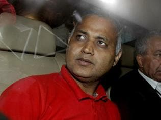 It's 'BJP-sponsored' case, claims Somnath Bharti, seeks bail