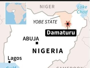 Suicide bombers kill 17 in Damaturu city in northeastern Nigeria