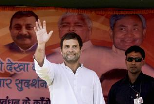 Farmers' lands 'seized' for Rahul's Karnataka rally today