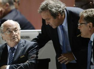 Blatter appeals 90-day Fifa suspension, Platini plans the same