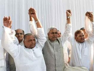 Nitish is main campaigner for grand alliance in state elections