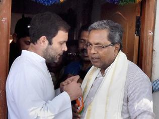 Prodded by Rahul, Siddaramaiah waives interest on farm loans