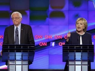 Clinton, Sanders headline first Democratic presidential debate