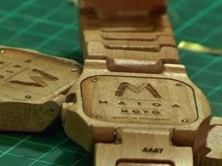 Watch   Indonesian designer creatively recycles wood into wrist watches