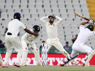 Stumped on Day 1: How India lost their nerves in Mohali