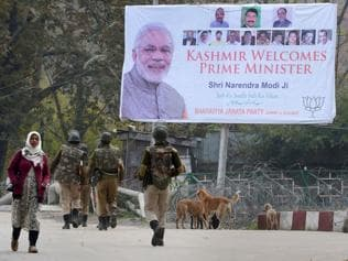 Five things to watch out for on PM Modi's Kashmir visit today