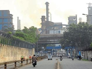 Explosion at Tata Steel