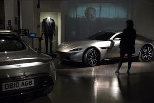 Watch | The cars of Spectre in new Bond exhibition