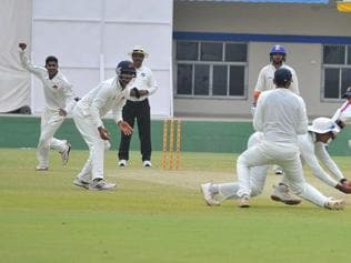 Ranji Trophy: 16 wkts fall on Day 1, MP poised to take lead