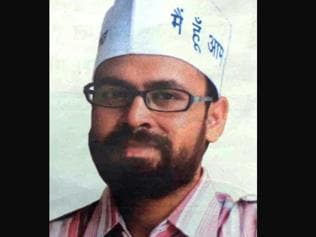 AAP MLA Akhilesh Tripathi arrested in rioting case