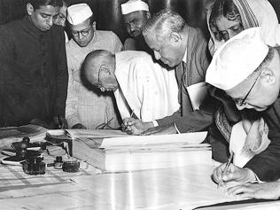 Their greatest work: How Indians made Constitution a success