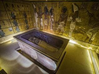 Egypt '90% sure' that a hidden chamber lies in Tutankhamun's tomb