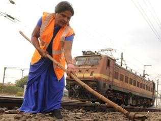 Feroza Bano, first trackwoman in N Railway, ensures you travel safe