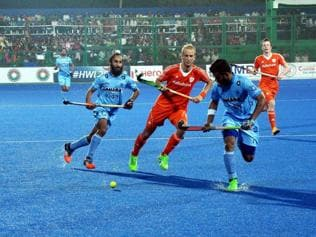 India lose to Dutch in Hockey World League