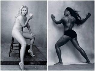 Amy Schumer, Serena Williams pose nude for Pirelli Calendar 2016