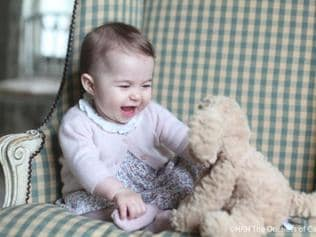 Adorable new pics of Britain's Princess Charlotte released