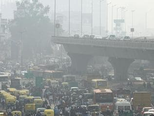 Air quality in Delhi 'hazardous', worse than Beijing